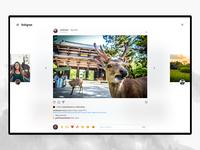 Instagram Desktop – Post ✨