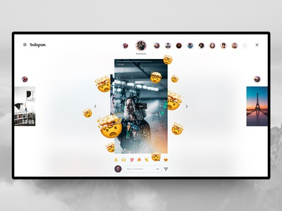 Instagram Desktop – Stories 🤯