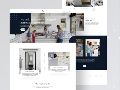 Tasko home renovation homepage design homepage minimal agency clean design food website ecommerce design ecommerce ui real estate