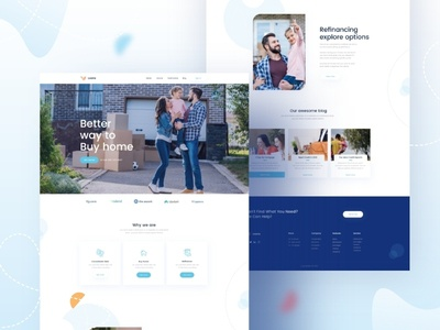 Loan Home page Design