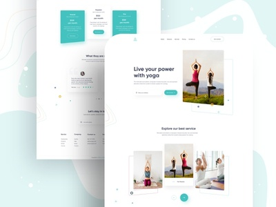 Yoga------------- Home Page Design