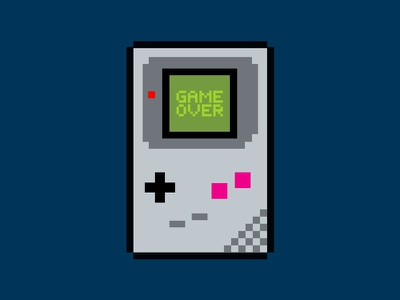 Game Boy characters character design illustration pixels games video game retro