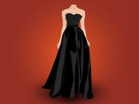 Lady Dress Vector