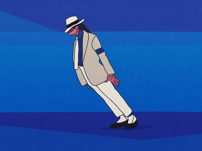 Michael Jackson vector icon design illustration michaeljackson