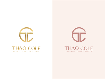 Thao Cole - cosmetic tattoo studio   Logo Design by One Pixel Me design branding logo