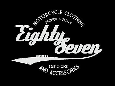 87 motorcycle logo motorcycle club branding illustration logo