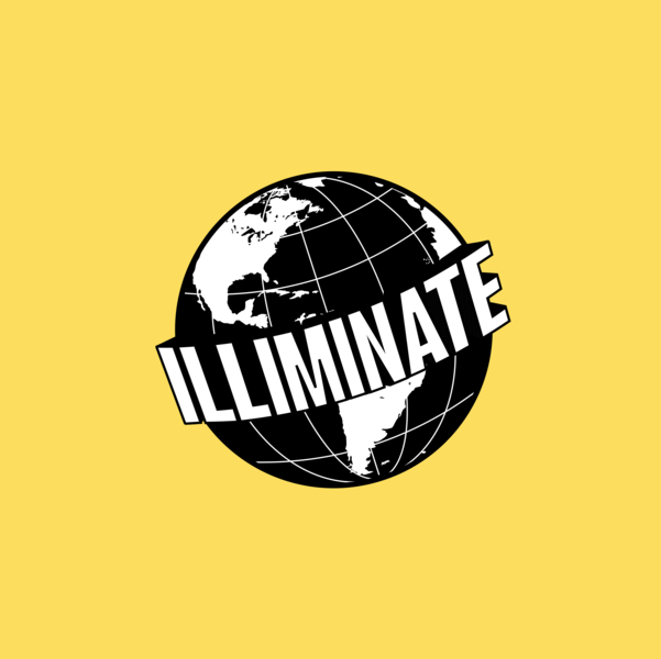 illiminate logo clothing brand brand logo illustration branding earth logo global illiminate
