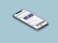 Social feed reader app