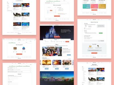 MyFirstTrip website desktop ecommerce trip checkout process checkout interaction design ui
