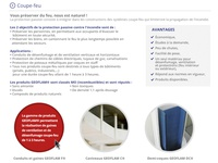 Webdesign Firestop Product