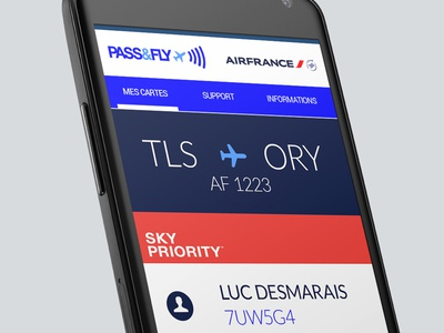 Pass Fly Android Airfrance 2