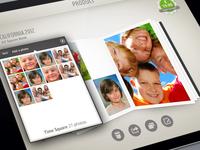 Photobox Ipad Add photos