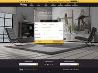 Landing page real estate