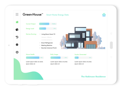 GreenHouse - Smart Home Interface