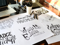 Bob Dylan´s HAND LETTERING EXPERIENCE