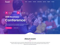 Event4 - Responsive Marketing Landing Pages