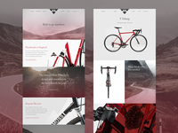 Moss Bikes Website Concept