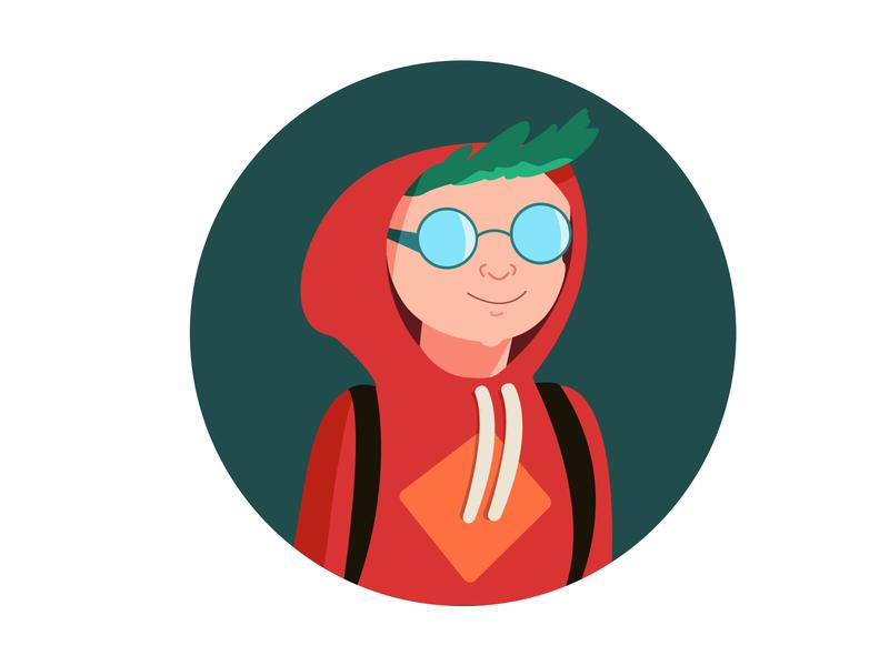 Hooded person illustration drawing illustrator illustrator cc hoodie person illustration