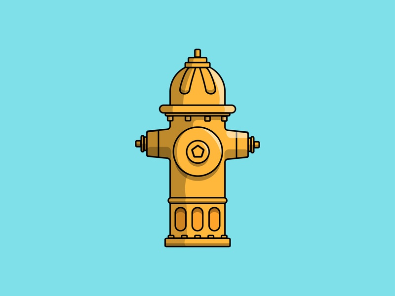 Fire hydrant illustration hydrant fire hydrant dailydrawing vectorart vectorartist illustration art vector design illustrator cc illustrator illustration