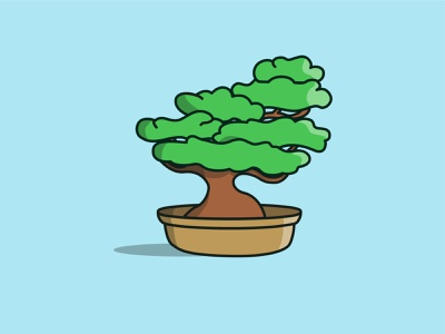 Bonsai illustration design illustrator cc illustrator illustration vector art vectoraldesign illustration art vector vectorart vectorartist vectorartwork daily challenge daily drawing daily drawing challenge vector illustration