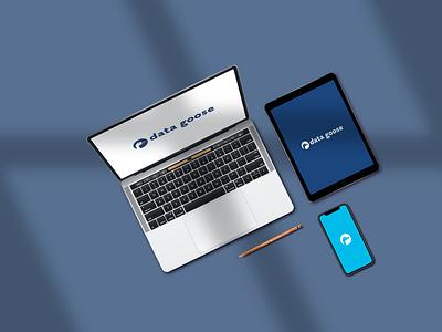 Data Goose branding startup branding startup logo brand identity logo mark logo design branding