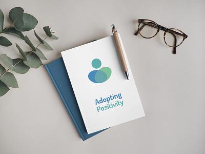 Adopting positivity notebook mockup logo design branding logo designer logo designs logo design logo mark logo brand identity branding design branding and identity brand design brand branding