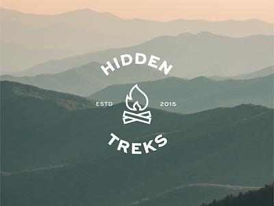 Hidden treks logo logo design concept brand identity designer brand identity branding graphic branding concept branding and identity brand designer branding design logo logo design illustrator cc design branding