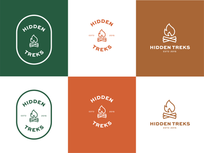 Hidden treks logo colour combinations briefbox logo design logodesign logo logo exploration logo variations brand identity designer brand identity branding brand identity design brand design branding and identity branding concept brand identity branding design brand