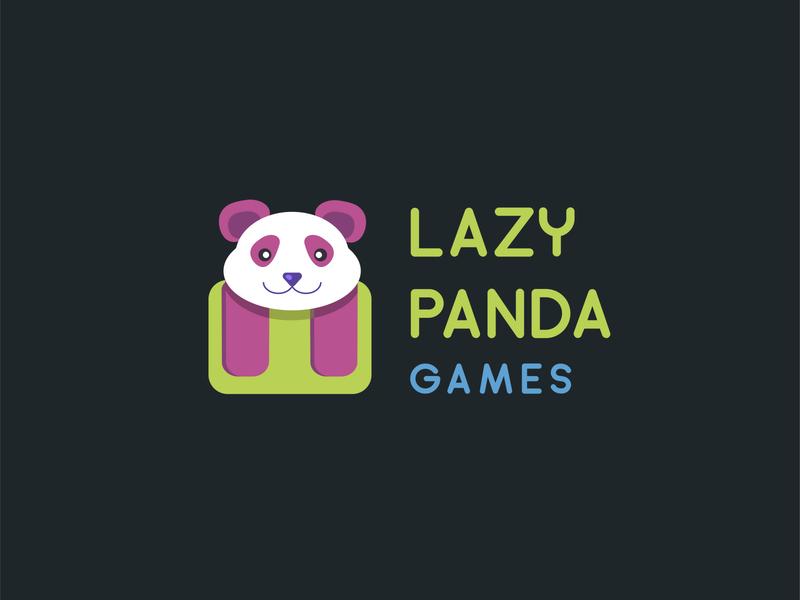 Daily logo design challenge #3 games logo panda logo panda ui vector design illustration branding logo daily logo daily logo challenge
