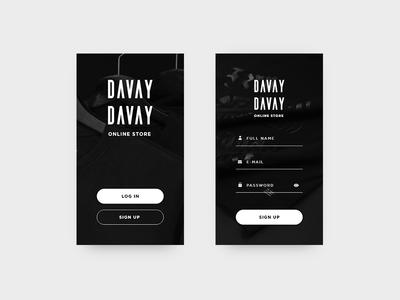 Entrance concept for mobile app