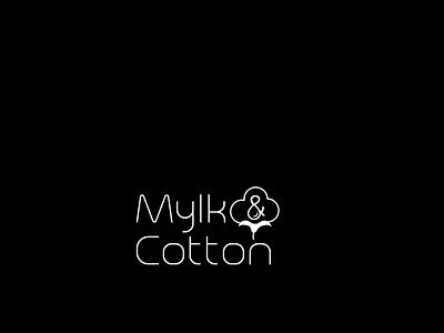Logo vector typography gradient icon logo design logo logo design concept icon illustration branding concept cotton logo