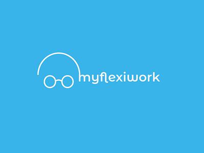 My flexiwork logo illlustrator illustration art flat logo logo mark logo idea logo inspirations logotype icon artwork logo logo design illustration branding typography logo design concept