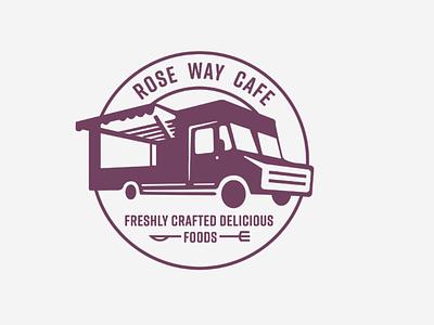 Logo Design concept based logos logo for rose way cafe branding logo craft logoconcept logodesign