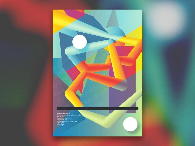 Self Care jimmykano illustrator photoshop poster gradient blend illustration new vector graphic  design design