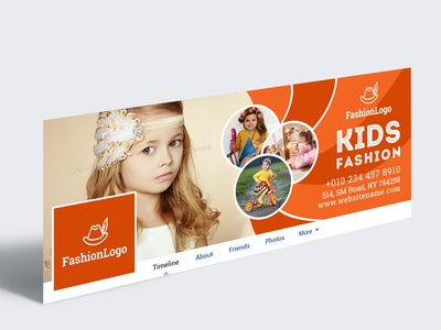 Kids Fashion Facebook Cover Photo
