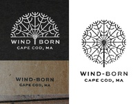 Wind-Born Logo Stamps