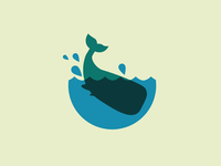 Whale poster logo