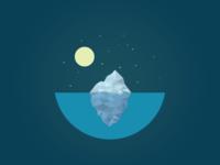 Poly iceberg
