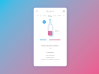 Alcohol calculator app