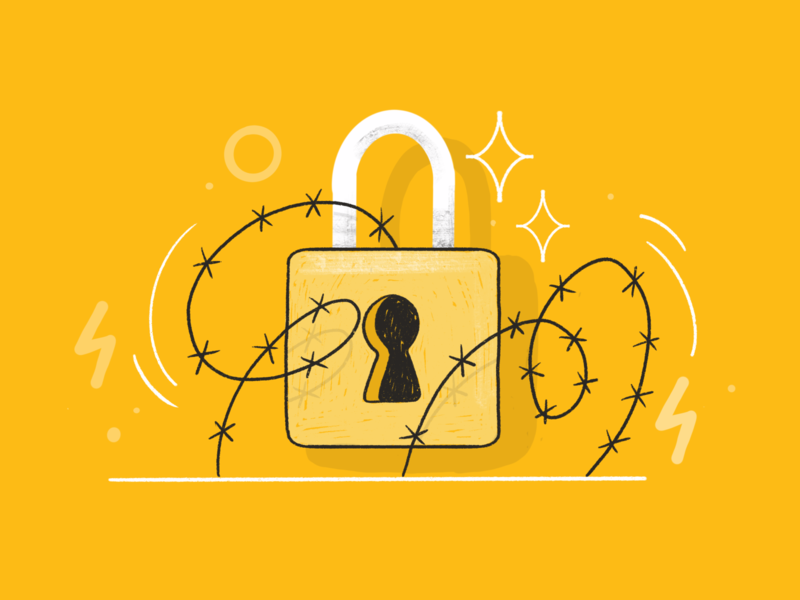 Security illustration 🔒 icon icons set flat design product design funny illustration firewall password mobile banking secure payment locked insurance illustartion security system lock illustration drawing vector 2d darkcube digitalart illustration