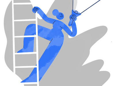 Looking around 👀🔦 digital illustration climbing character design missing search hand woman pattern drawing vector charachter 2d darkcube digitalart illustration