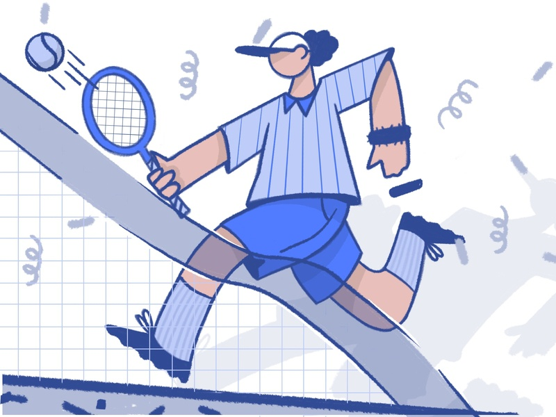 Catching The Ball By Darkcube Studio On Dribbble