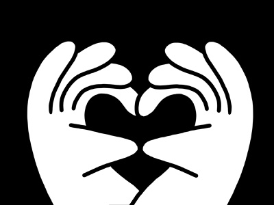 Happy Friday darkcubestudio procreate app icon draw drawing ux character concept hands heart icon hand landing page drawing vector darkcube web custom design charachter 2d digitalart illustration