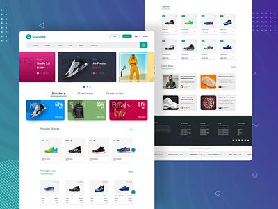 Stock market landing page stockx banner design ecommerce stock webdesign
