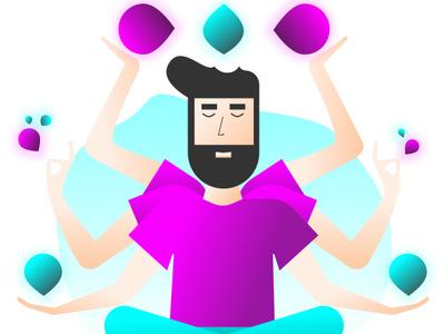 Developer Mode- Full stack design fullstack illustration developer