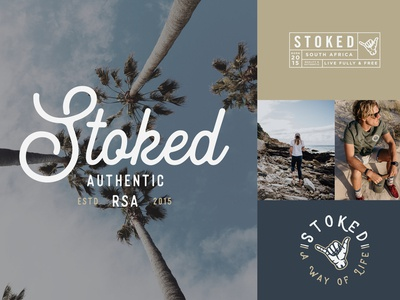 Stoked The Brand • Logo & Branding