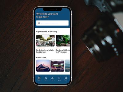 Travel app interaction design android ios travelling product design app uxui ux ui design