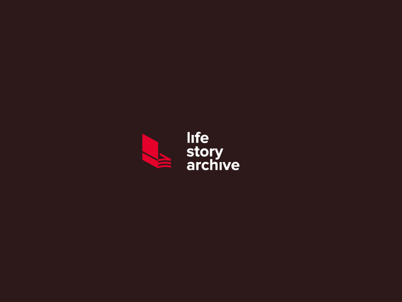 Life Story Archive letter l ! wave book