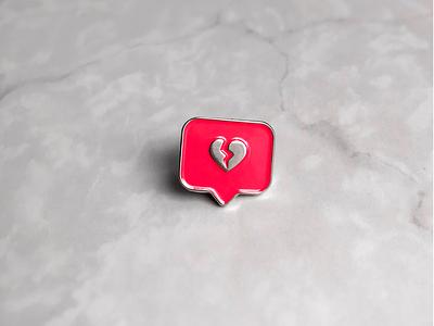 Pin Instagram Heartbroken broken heartbroken heart like instagram logotype logo