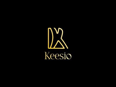 Fashion Logo - Keesio Modern Logo Design for Fashion Company design minimalism brand geometry mark modern logo logo e branding idenity logodesign logos logo design